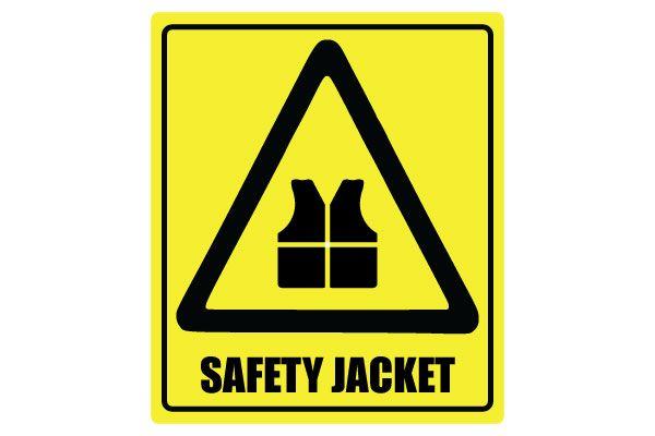 Printable Sign For Sale: Printable Safety Jacket Sign Free Download PDF File