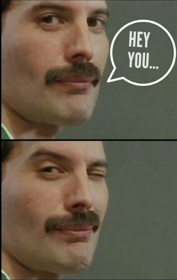 *Whimper* Thank you, Freddie... #freddiemercuryquotes