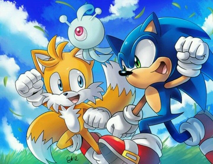 Tails yacker and sonic