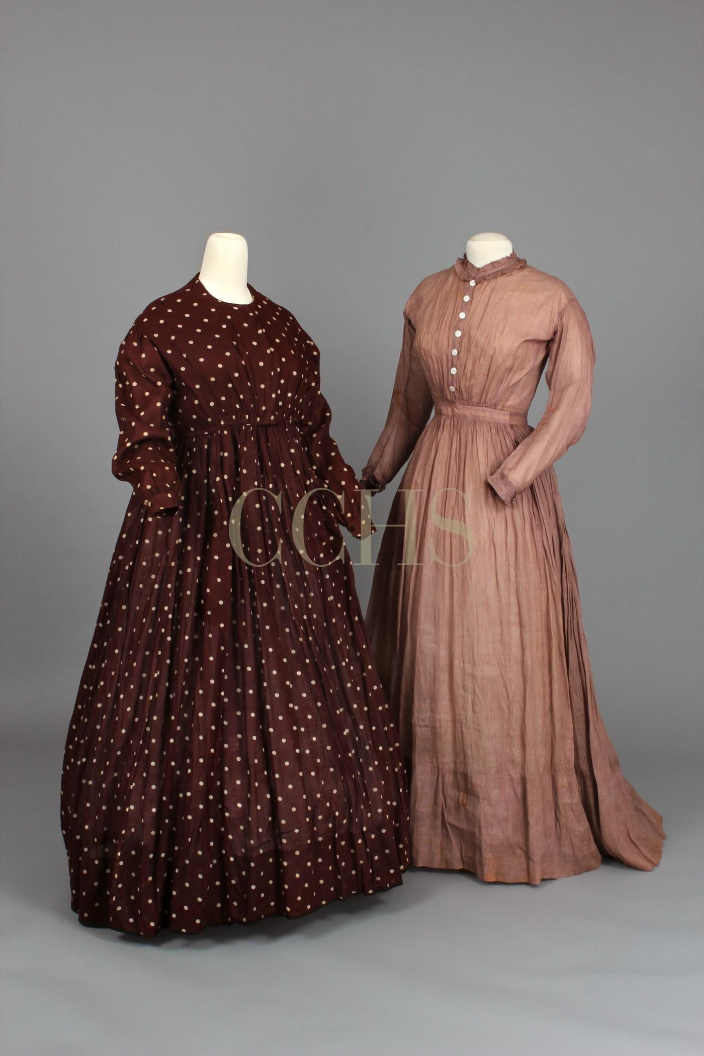 Work Dresses 1860 1870 Cchs Clf20 And 1982 5 3