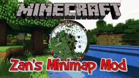 Zans Minimap Mod Minecraft Mods - Mini map para minecraft 1 10 2
