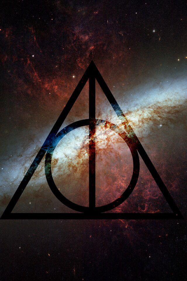 Harry Potterly Hallows Galaxy Wallpaper