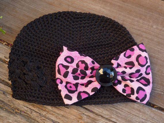 Wild Child Crochet Infant Hat by kimlovespink on Etsy, $7.99