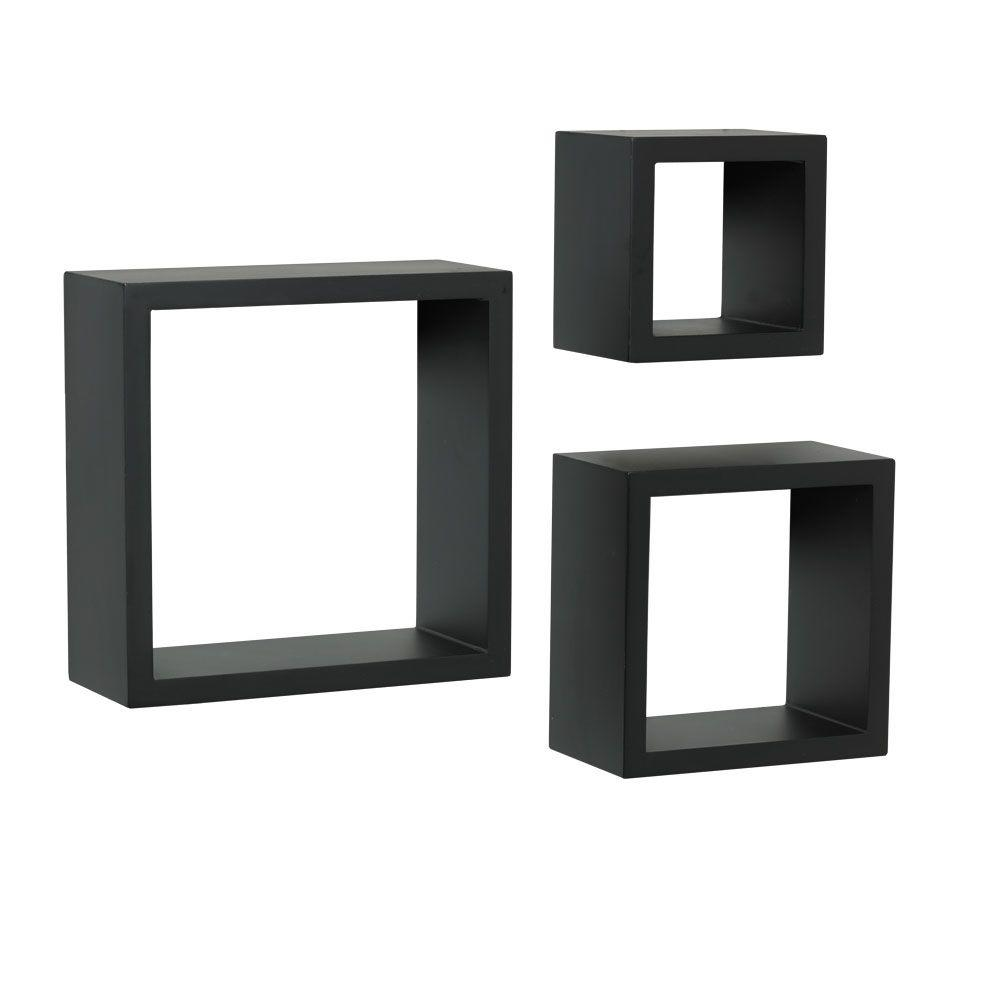 Decorative Shadow Box 4 Inx 9 Infloating Black Shadow Box Decorative Shelf Kit 3