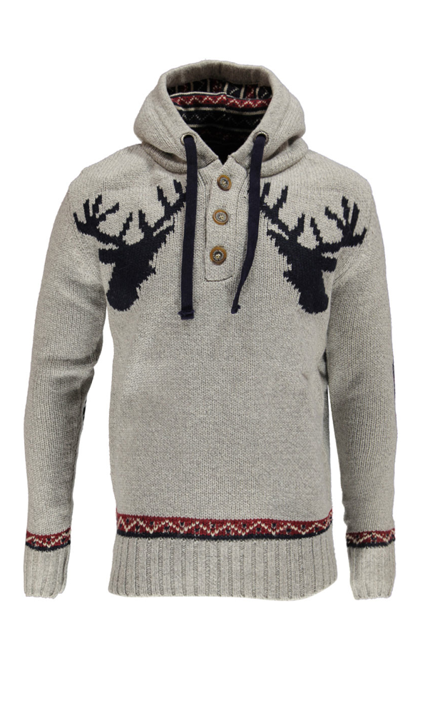 81cd33b8e891 Reindeer hoodie - for my husband to be - maybe just maybe I could convince  him to wear this!