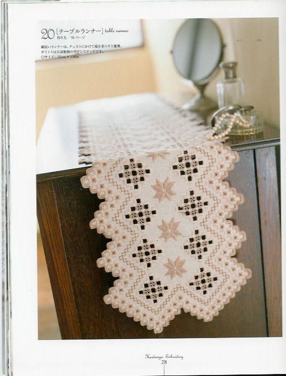 Gallery.ru / Фото #22 - Hardanger Embroidery(япония) - Orlanda                                                                                                                                                      More