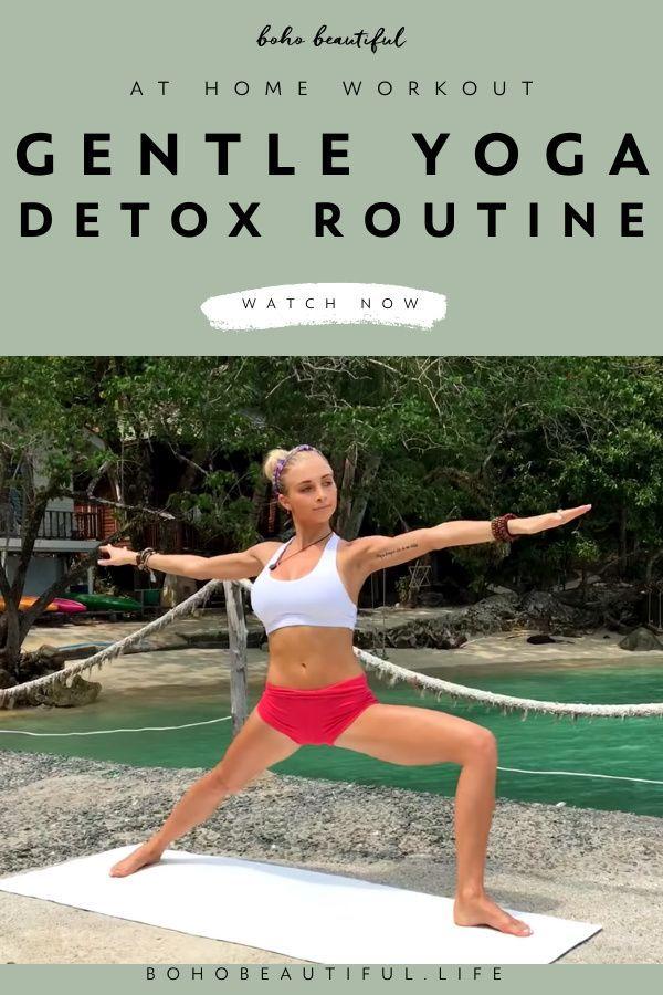 Digestion Detox Yoga Flow At Home Yoga Routine Yoga Detox Yoga Tutorial Wellness Yoga