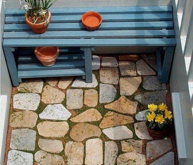 How To: Egg Carton Flagstones