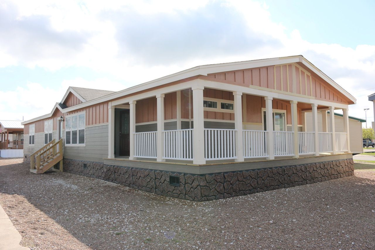 Mobile home floor plans with porches for Deck plans for mobile homes