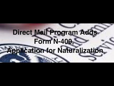 Where To Send N400 Form Mailing Address