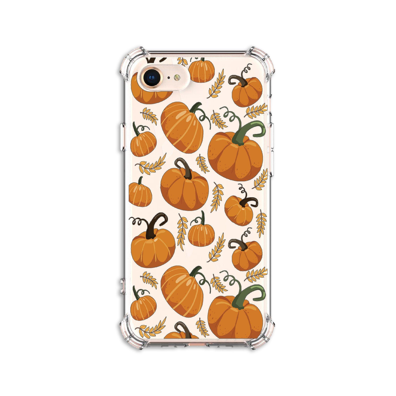 Pumpkin Pattern Phone Case Pumpkin Spice Iphone 8 X Xs Etsy In 2020 Pattern Phone Case Holiday Phone Case Phone Cases