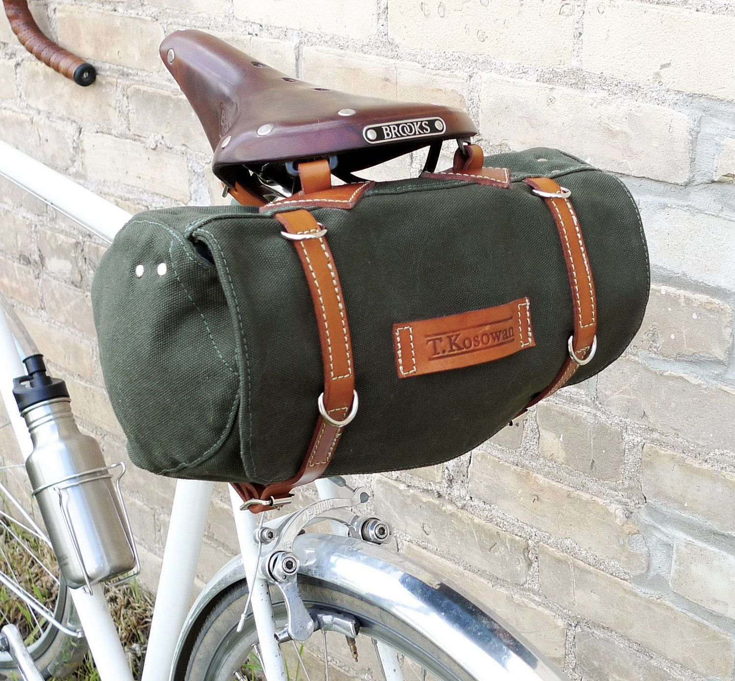 894d89d792 Classic Vintage Style Bicycle Bag (Ready to Ship).  96.00