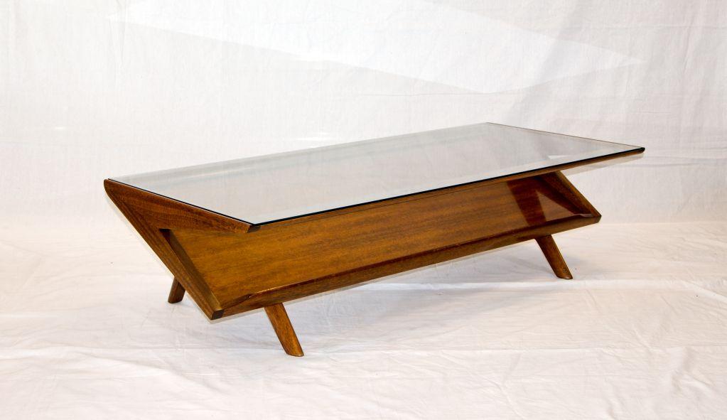 John Keal For Brown Saltman Mid Century Coffee Table Image 4