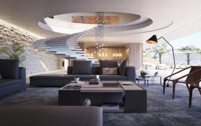 Así es Superhouse S 00/30, una espectacular vivienda de lujo en el Mediterráneo