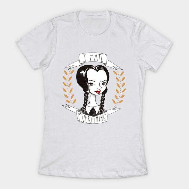 Wednesday Addams Womens T-Shirt