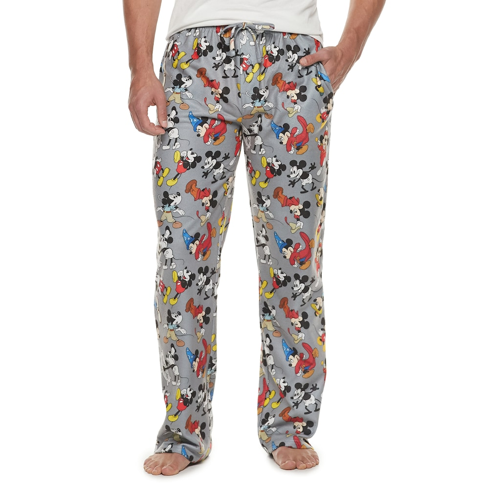 Disney Mens Mickey Mouse Pyjamas