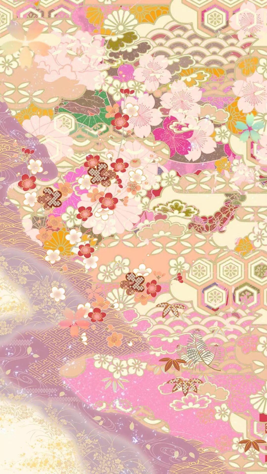 Iphone Wallpapers Vintage Asian Art Japanese Art Japanese Patterns