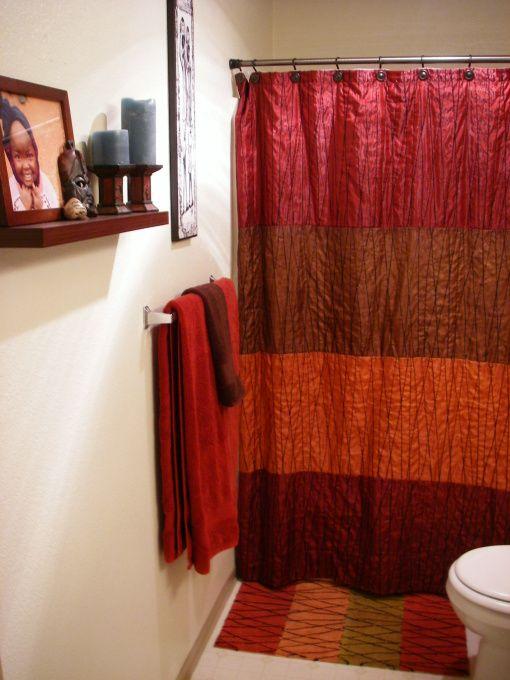 African Themed Bathroom Home, African Bathroom Decor