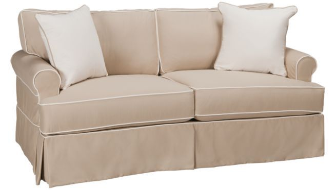 Amazing Four Seasons Emily Townhouse Sofa W Slipcover Sofas Onthecornerstone Fun Painted Chair Ideas Images Onthecornerstoneorg