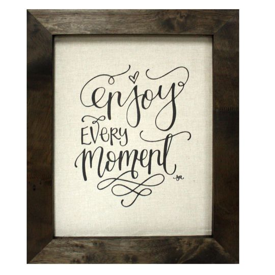 Purchase The Enjoy Every Moment Wall Art Farmington By Studio Decor At Michaels Com Wake Up To An Christmas Signs Wood Craft Show Ideas How To Make Signs