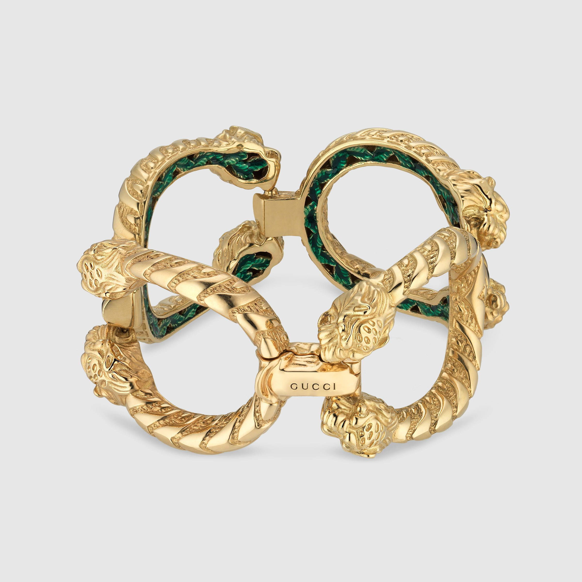 Dionysus bracelet in yellow gold bracelets pinterest gucci