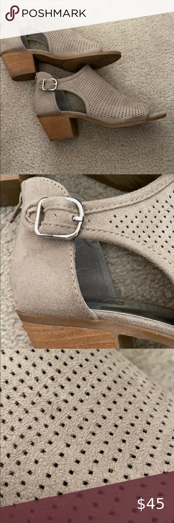 Carlos Santana Shoes   Carlos Tan Laser Cut Perforated