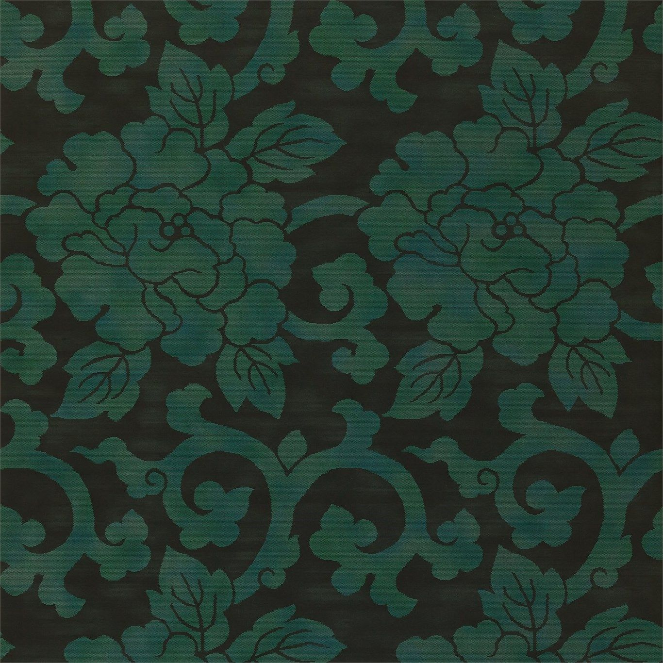 Mandarin Nup08001 Emerald (wallpaper)
