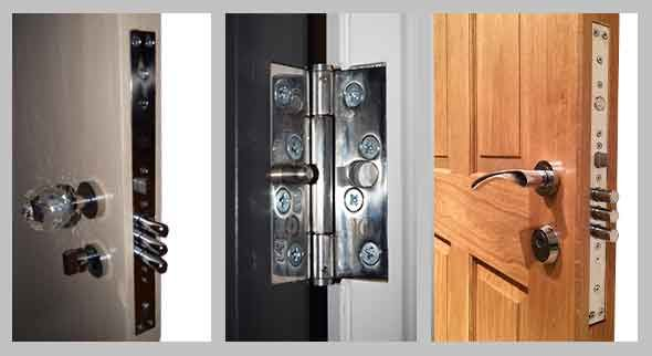 Security Wooden Doors Wooden Doors Home Security Door Handles