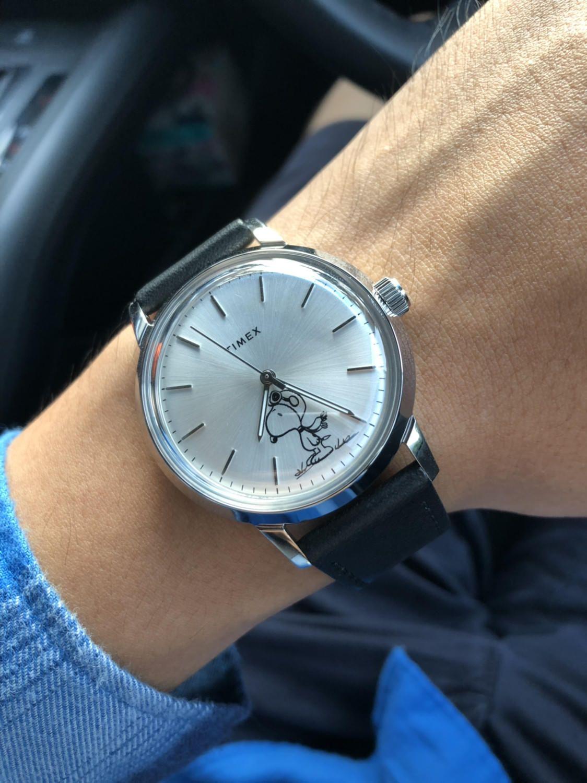 91761c9b36a76  Timex  Marlin snoopy Pocket Watches