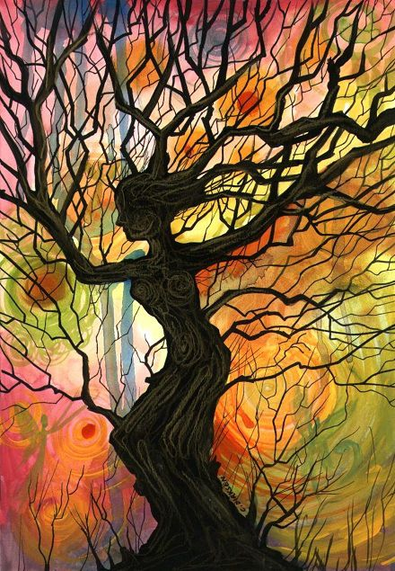 Tree Of Life In 2019 Art