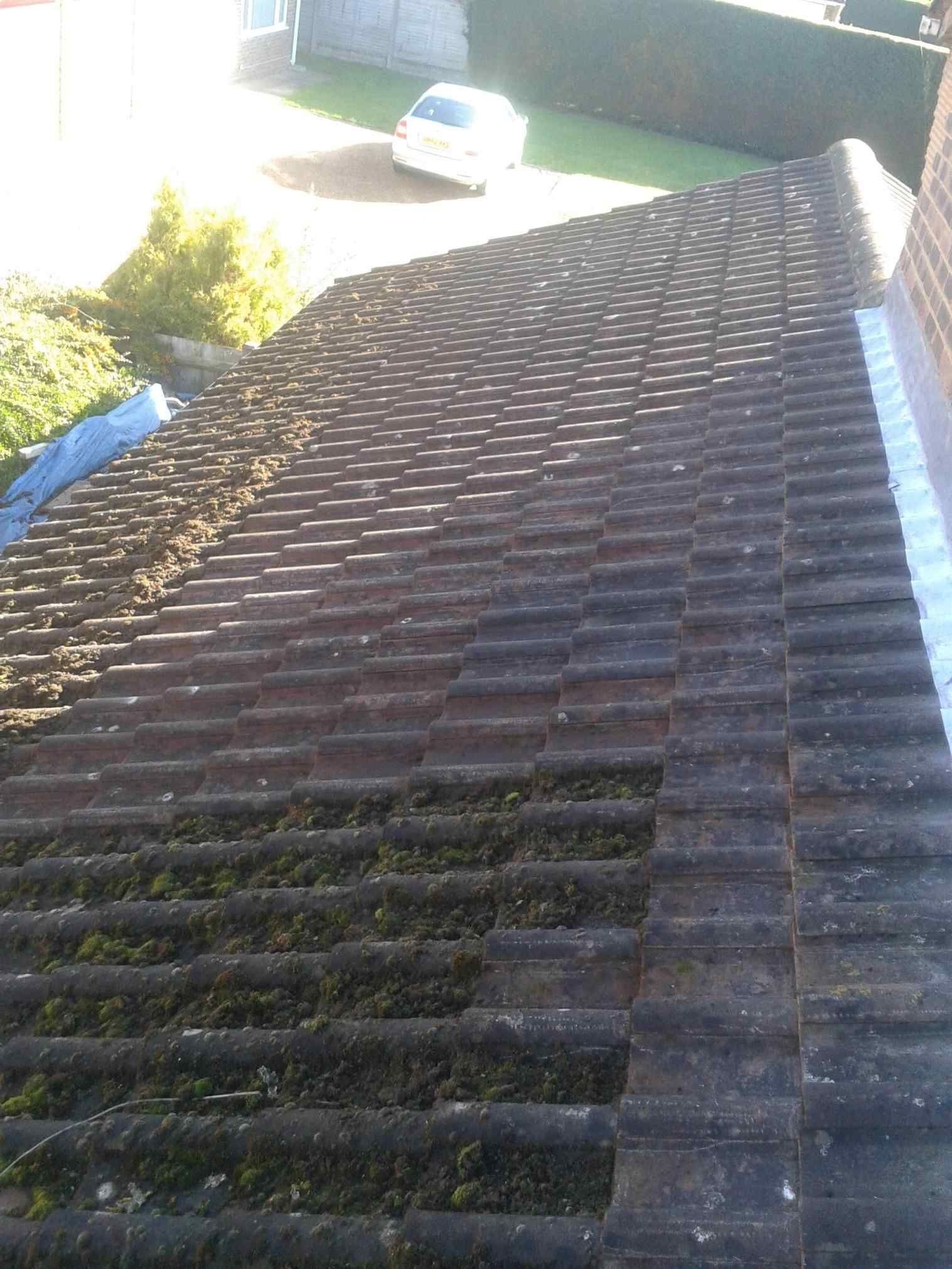 Metal Roof Cleaner Concrete Roof Tiles Concrete Roof Roof
