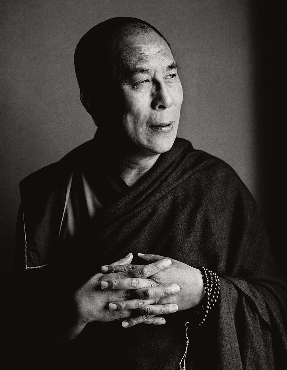 Herb Ritts, His Holiness The Dalai Lama, New York 1987 ...