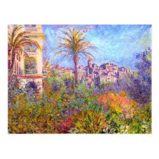 Claude Monet Villas At Bordighera Postcard Impressionistische Kunst Landschaftsmalerei