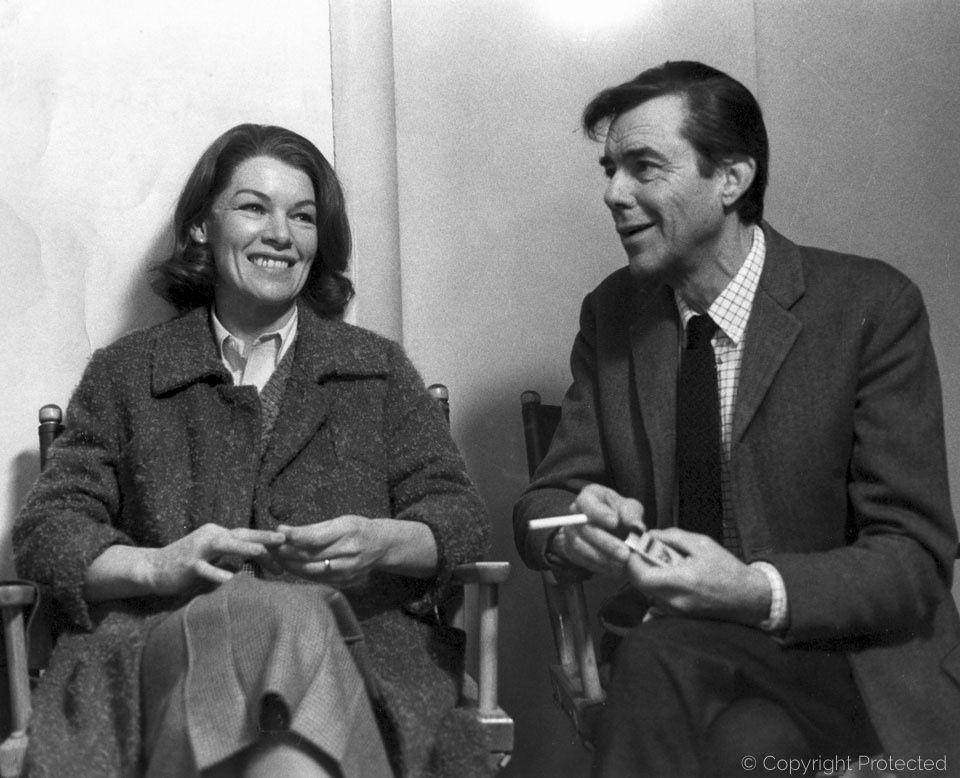 Glenda Jackson and Dirk Bogarde  in The Patricia Neal Story