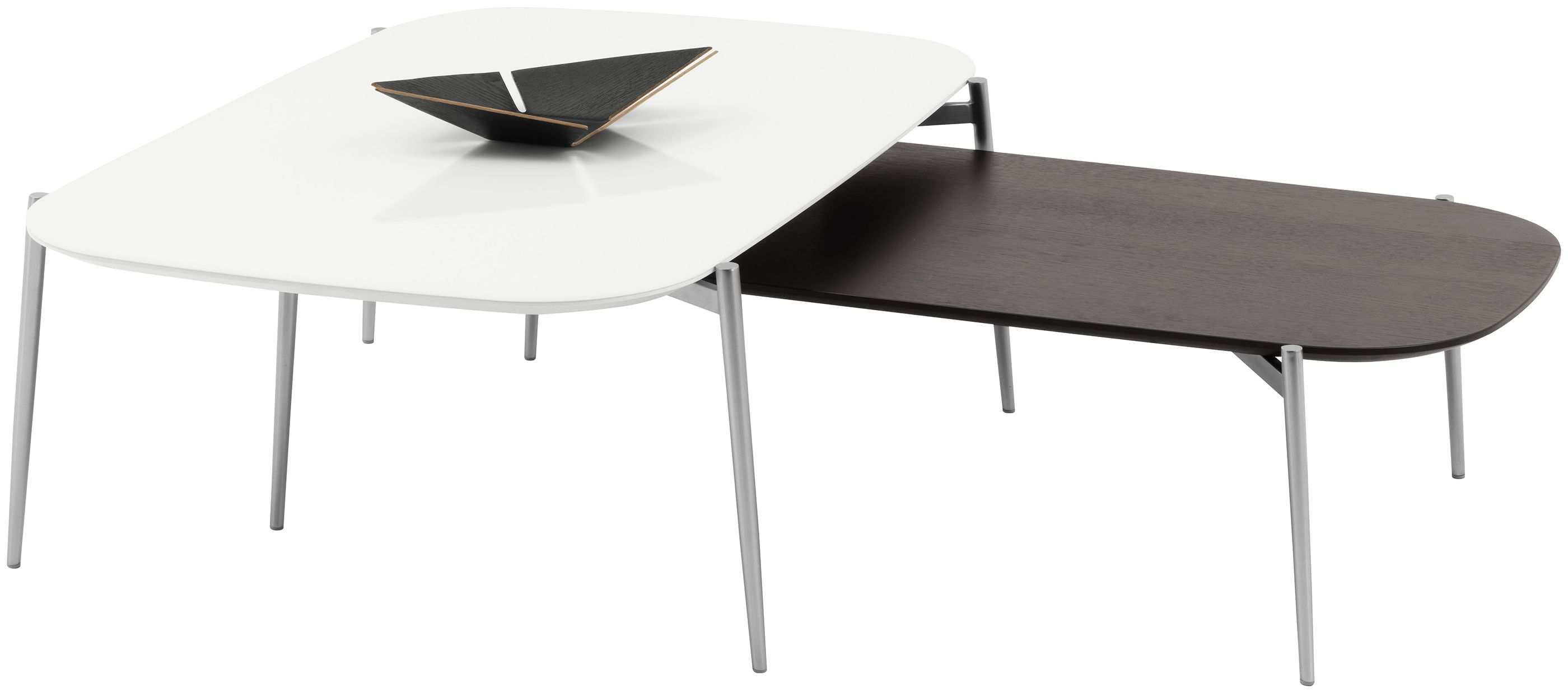 Murcia Coffee Table Available In Different Sizes And Colors As Shown White Glass Brushed Steel Coffee Table Modern Coffee Tables Contemporary Coffee Table [ 1238 x 2800 Pixel ]