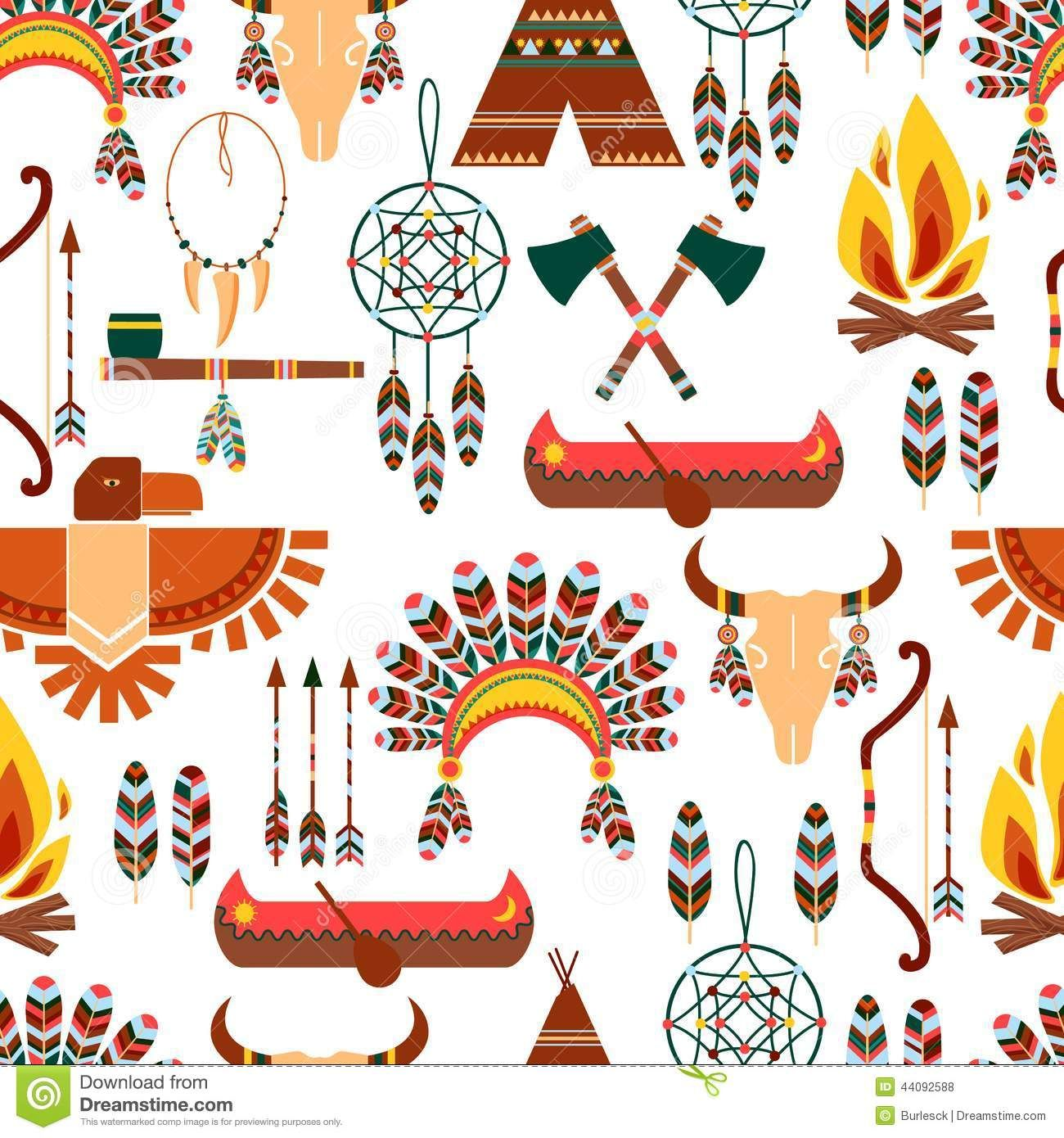 Seamless pattern american tribal native symbols pesquisa google set of seamless pattern american tribal native symbols used in different graphic designs editable eps and render in buycottarizona