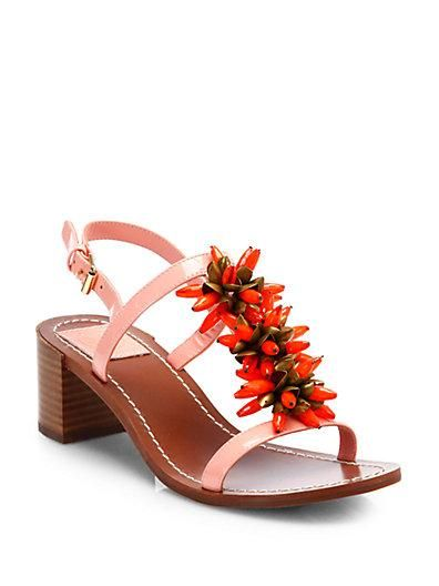 We found summer's perfect city sandal from Tory Burch!