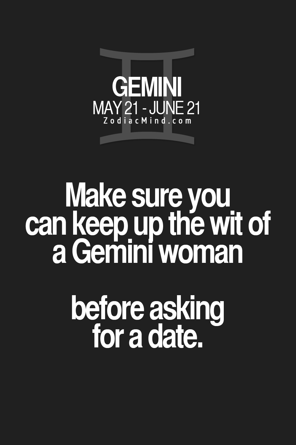 Potheads and Burnouts need not apply | Gemini♊ | Gemini facts