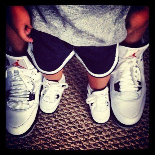 Jordans Basketball Shoes Father Son Swagg Dax One