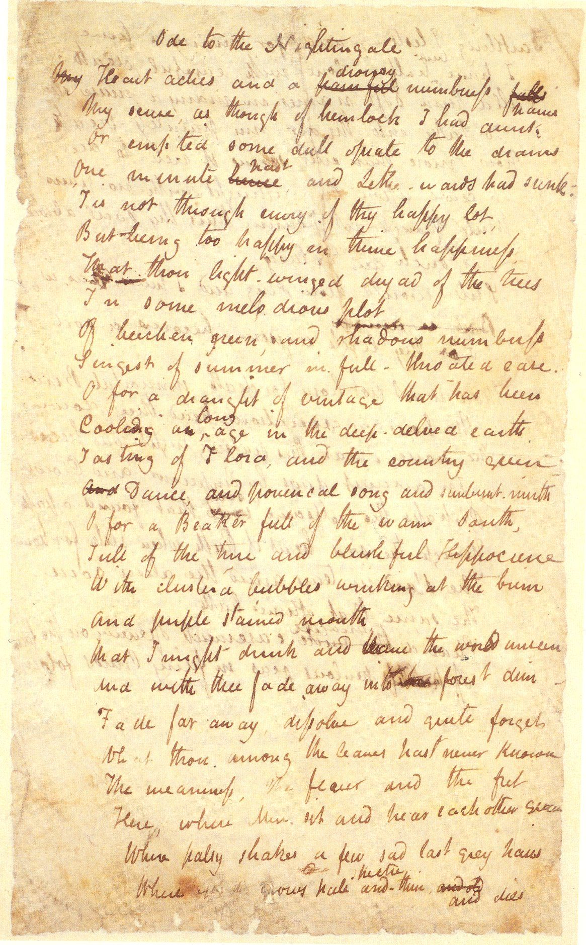 keats nightingale