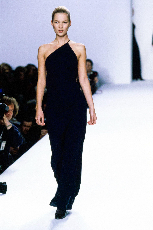 calvin klein collection fall 1996 ready to wear fashion show mode schwarz modenschau und. Black Bedroom Furniture Sets. Home Design Ideas
