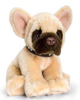 Signature Puppies Franzoesische Bulldogge Keel Toys Plueschtier