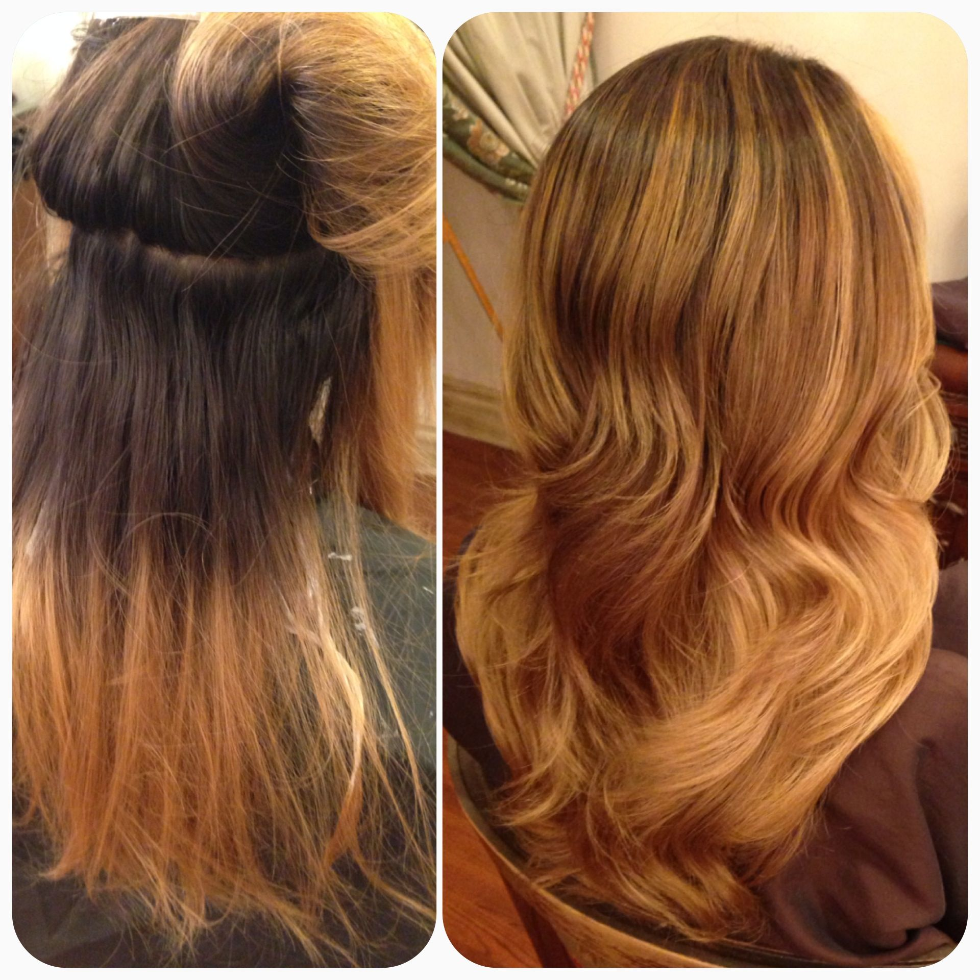 From A Grown Out Root Look To A More Subtle Ombre Gradation Of