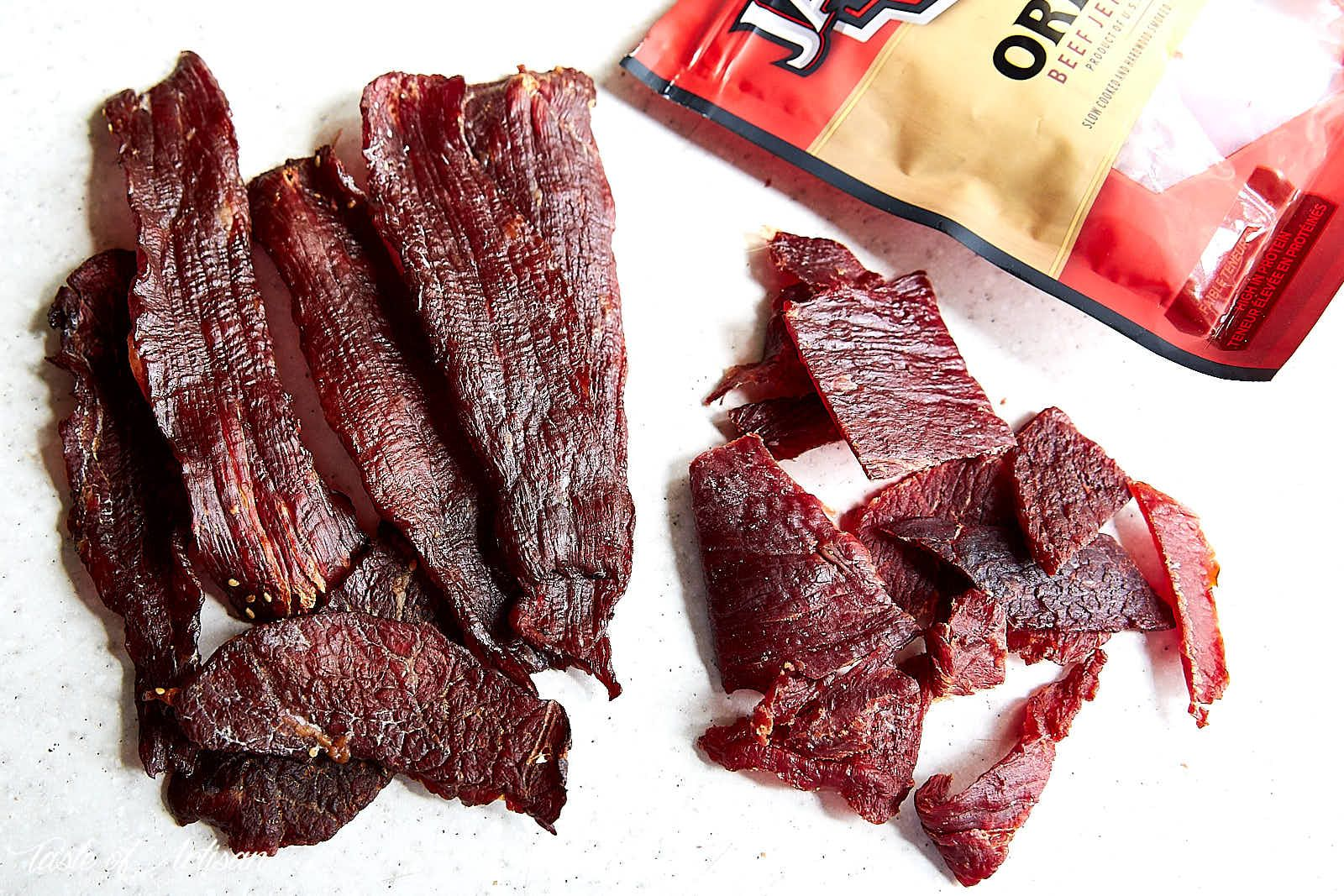 How To Make Beef Jerky In The Oven Comparison To Jack Links Jerky Taste Of Artisan Oven Jerky Oven Beef Jerky Jerky Recipes