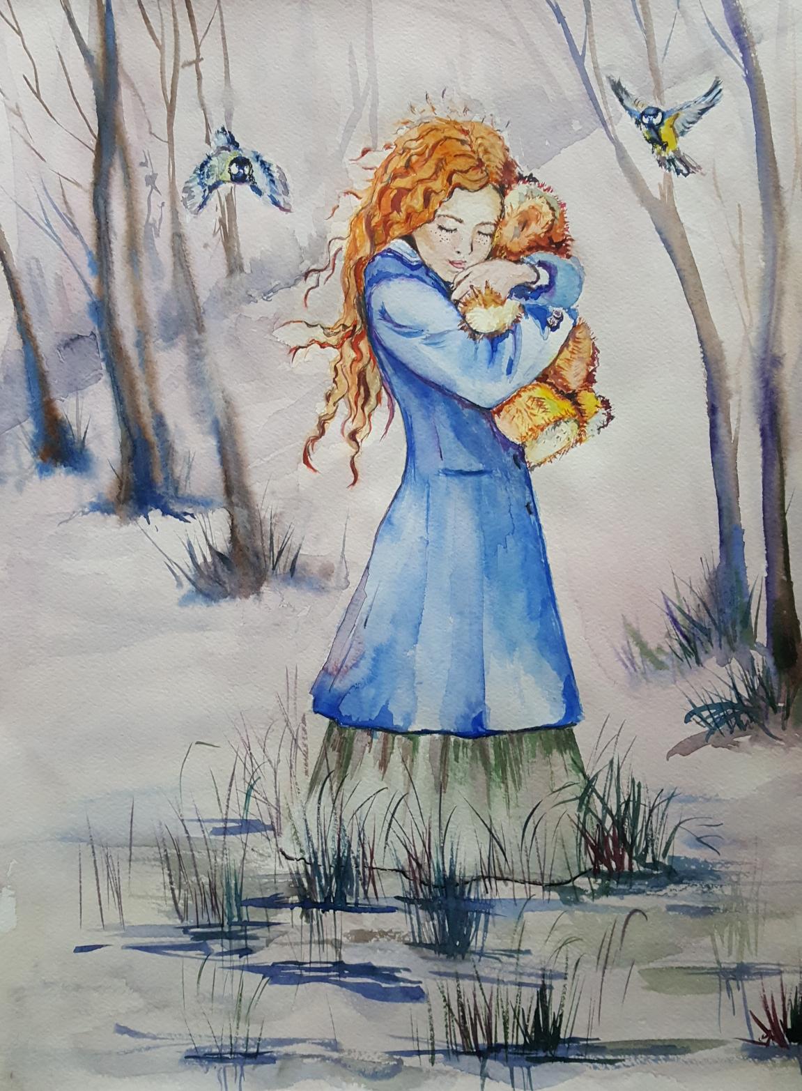 рисунок для прощанья картинки
