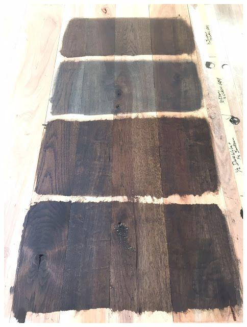 May 2016 Home Hardwood Floor Stain Colors Dark Walnut