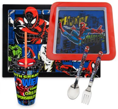 Admirable Spider Man Meal Time Magic Collection Disney Store Pabps2019 Chair Design Images Pabps2019Com