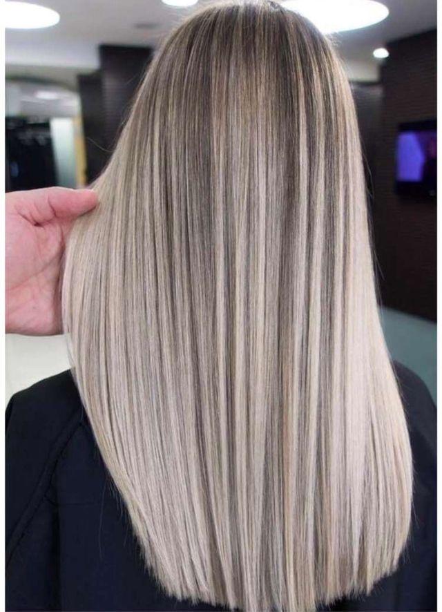blont hår 2018