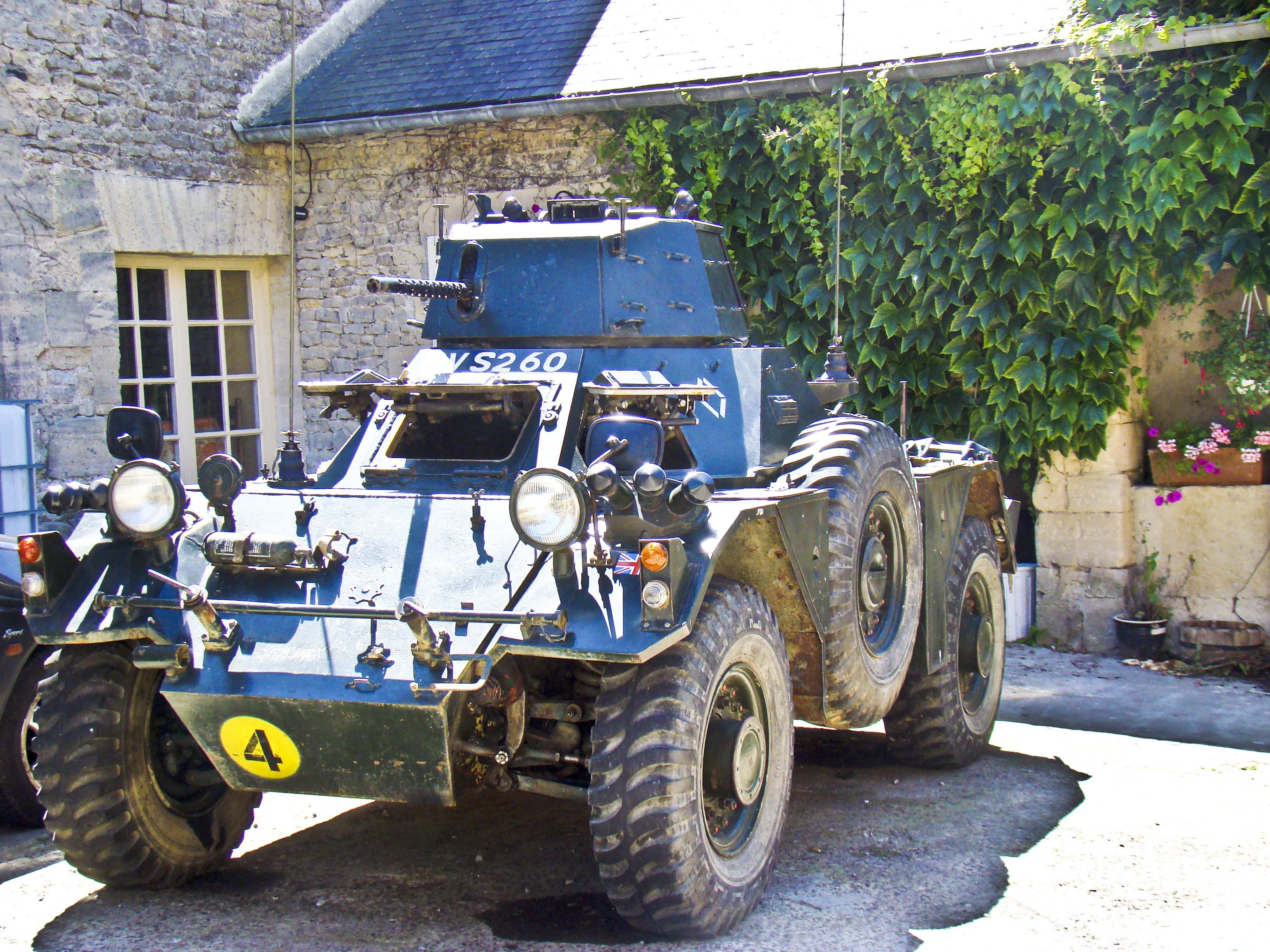 Is It Possible Driving An Army Tank Ferret Army Battle Tank