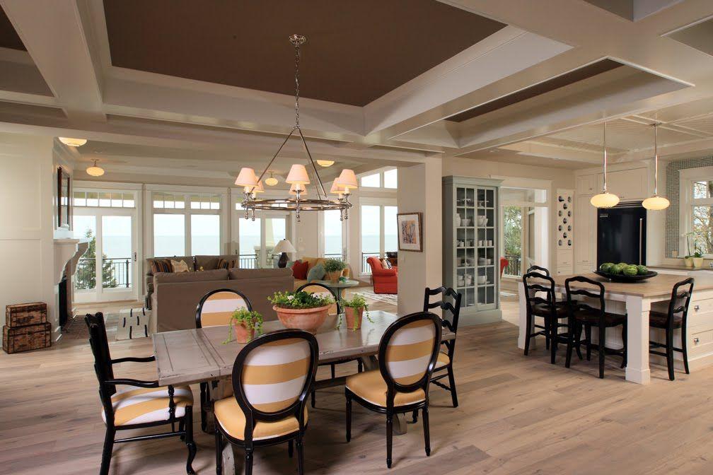 Open Kitchen And Living Room Floor Plans
